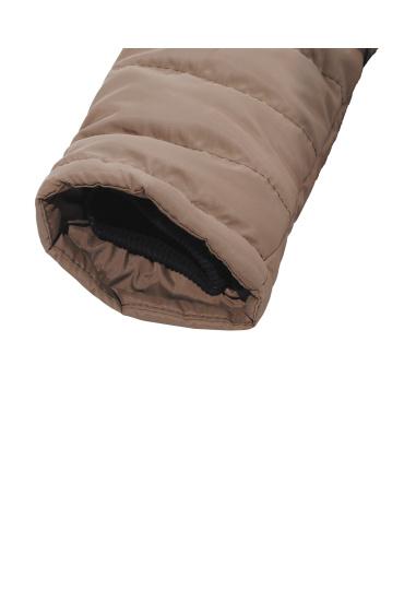 Зимова куртка Одягайко модель 20429br — фото 4 - INTERTOP