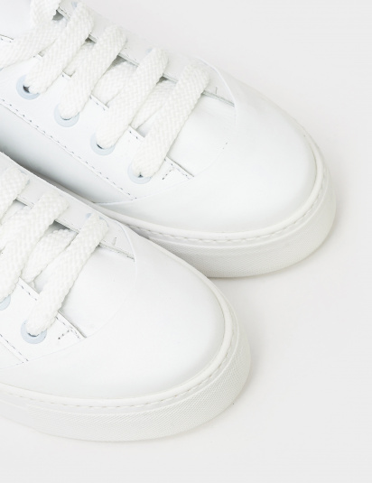 Кеди  для жінок Кеды 21301494 белая кожа 21301494 ціна взуття, 2017