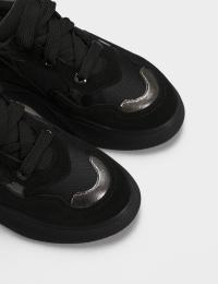 Кросівки  для жінок Кроссовки 21301517 серебристый/черная замша 21301517 продаж, 2017