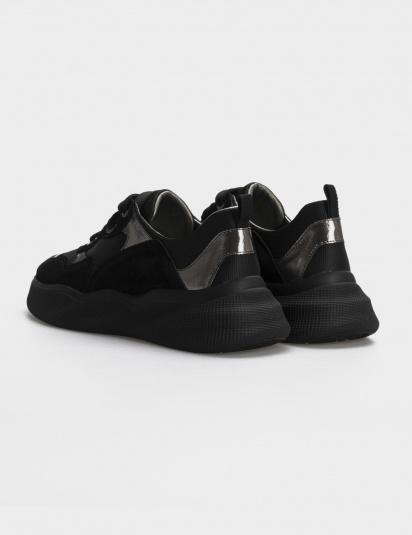 Кросівки  для жінок Кроссовки 21301517 серебристый/черная замша 21301517 фото, купити, 2017