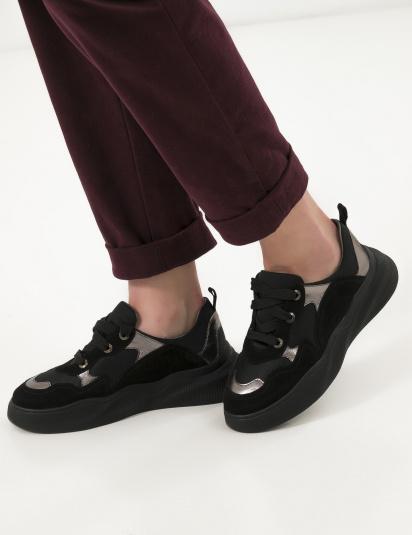 Кросівки  для жінок Кроссовки 21301517 серебристый/черная замша 21301517 модні, 2017