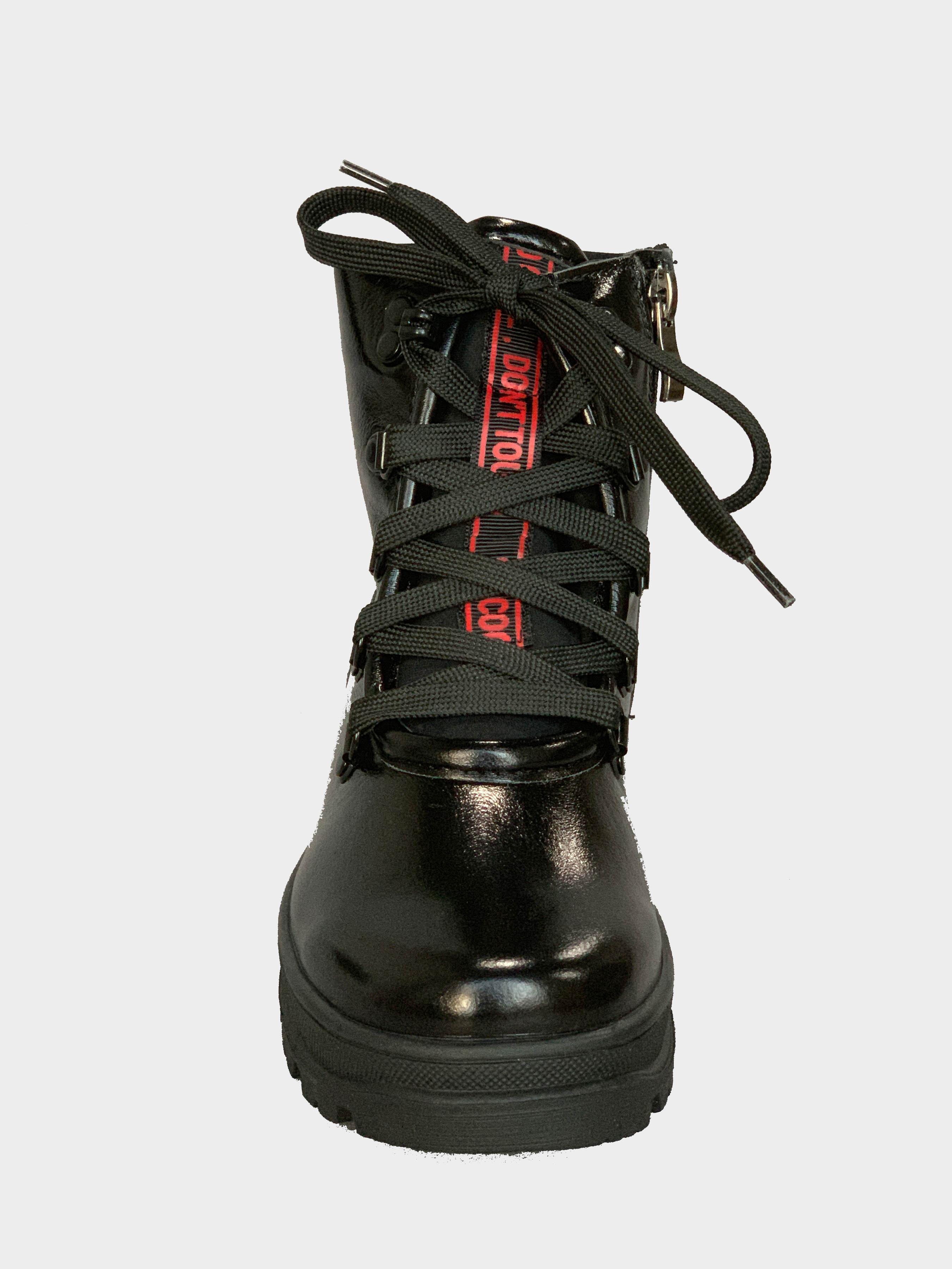 Ботинки для детей Berry Black 217-2K модная обувь, 2017