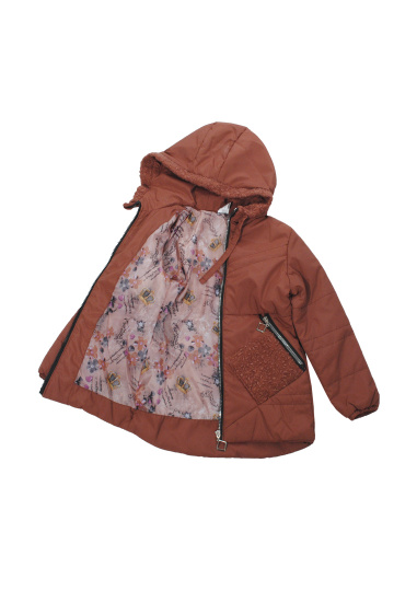 Легка куртка Одягайко модель 22561b — фото 3 - INTERTOP