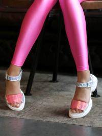 Босоножки для детей EVIE 226-2K размерная сетка обуви, 2017