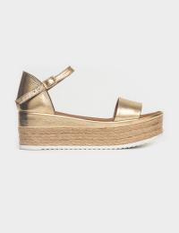 Босоніжки  для жінок Босоніжки 2320gold золотая кожа 2320gold брендове взуття, 2017