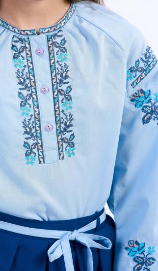 Блуза з довгим рукавом Едельвіка модель 235-17-00 — фото 2 - INTERTOP