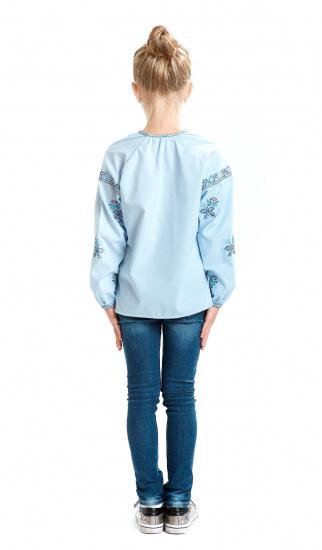 Блуза з довгим рукавом Едельвіка модель 235-17-00 — фото 3 - INTERTOP