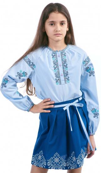 Блуза з довгим рукавом Едельвіка модель 235-17-00 — фото - INTERTOP