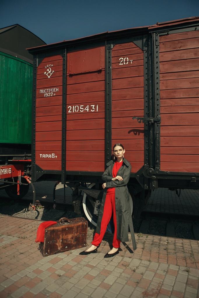 Плащ женские Anna Yakovenko модель 2423 качество, 2017