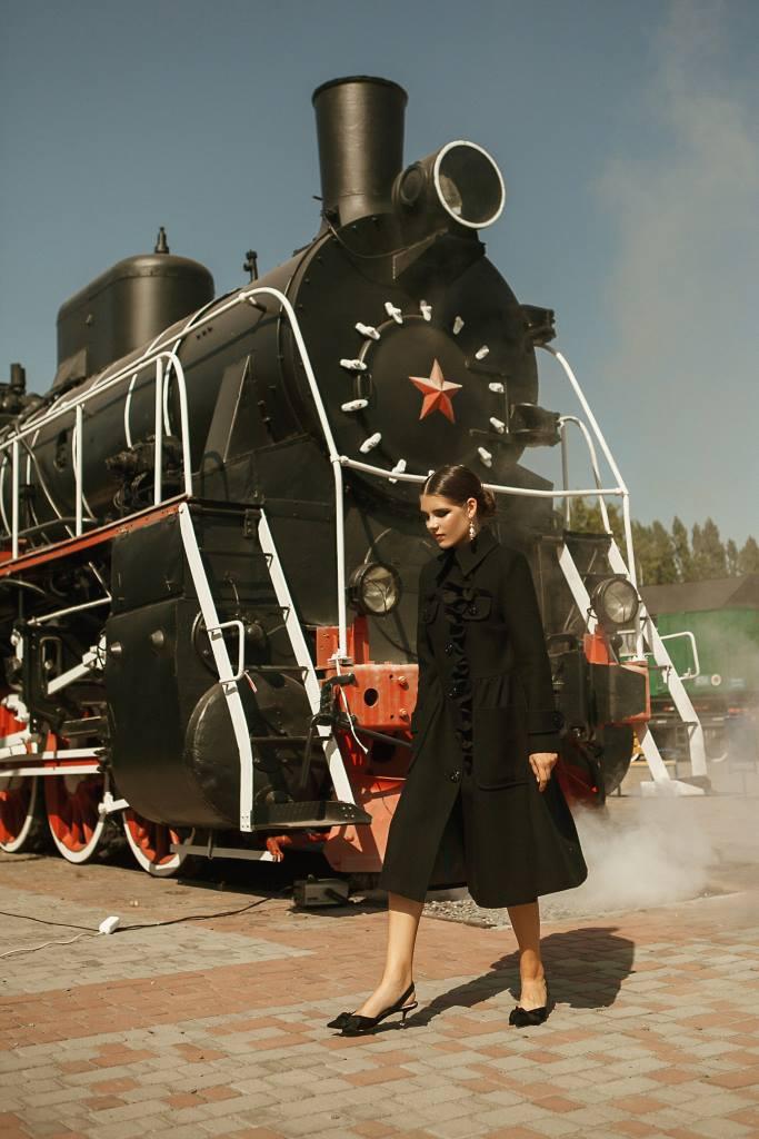Пальто женские Anna Yakovenko модель 2431 цена, 2017