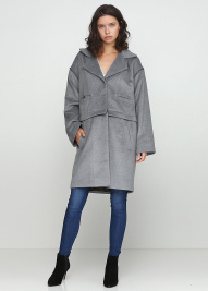 Пальто женские Anna Yakovenko модель 2436 , 2017