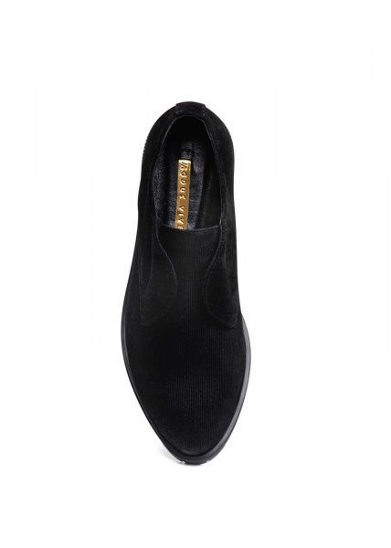 женские 250501 Туфли замшевые черные Modus Vivendi 250501 размерная сетка обуви, 2017