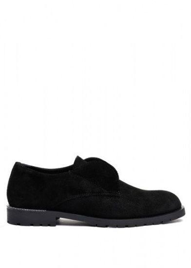 женские 250501 Туфли замшевые черные Modus Vivendi 250501 продажа, 2017