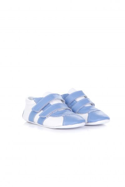 Купить Пинетки детские Miracle Me 2515-074, Голубой