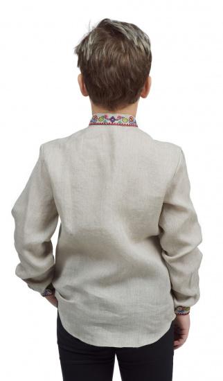 Сорочка з довгим рукавом Едельвіка модель 252-20-08 — фото 2 - INTERTOP