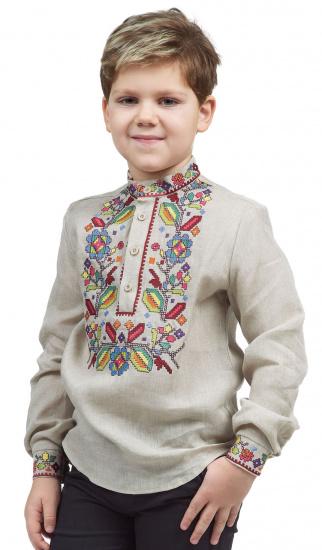 Сорочка з довгим рукавом Едельвіка модель 252-20-08 — фото - INTERTOP