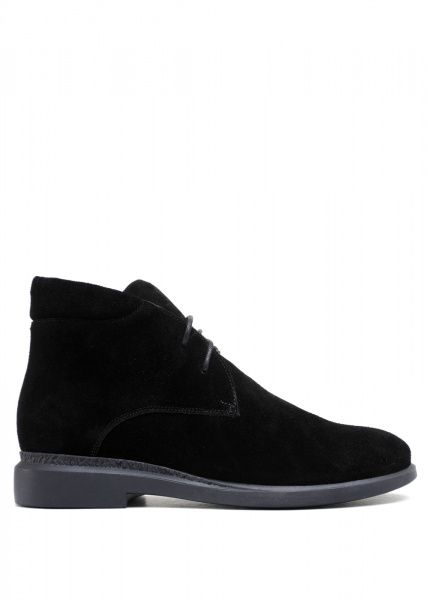 для женщин 271131 Черные замшевые ботинки Modus Vivendi 271131 примерка, 2017
