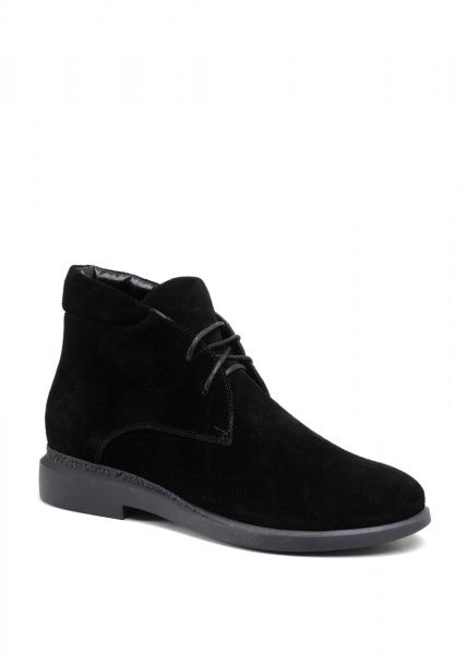 для женщин 271131 Черные замшевые ботинки Modus Vivendi 271131 бесплатная доставка, 2017