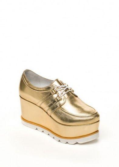 женские Туфли на танкетке 285621 Modus Vivendi 285621 модная обувь, 2017