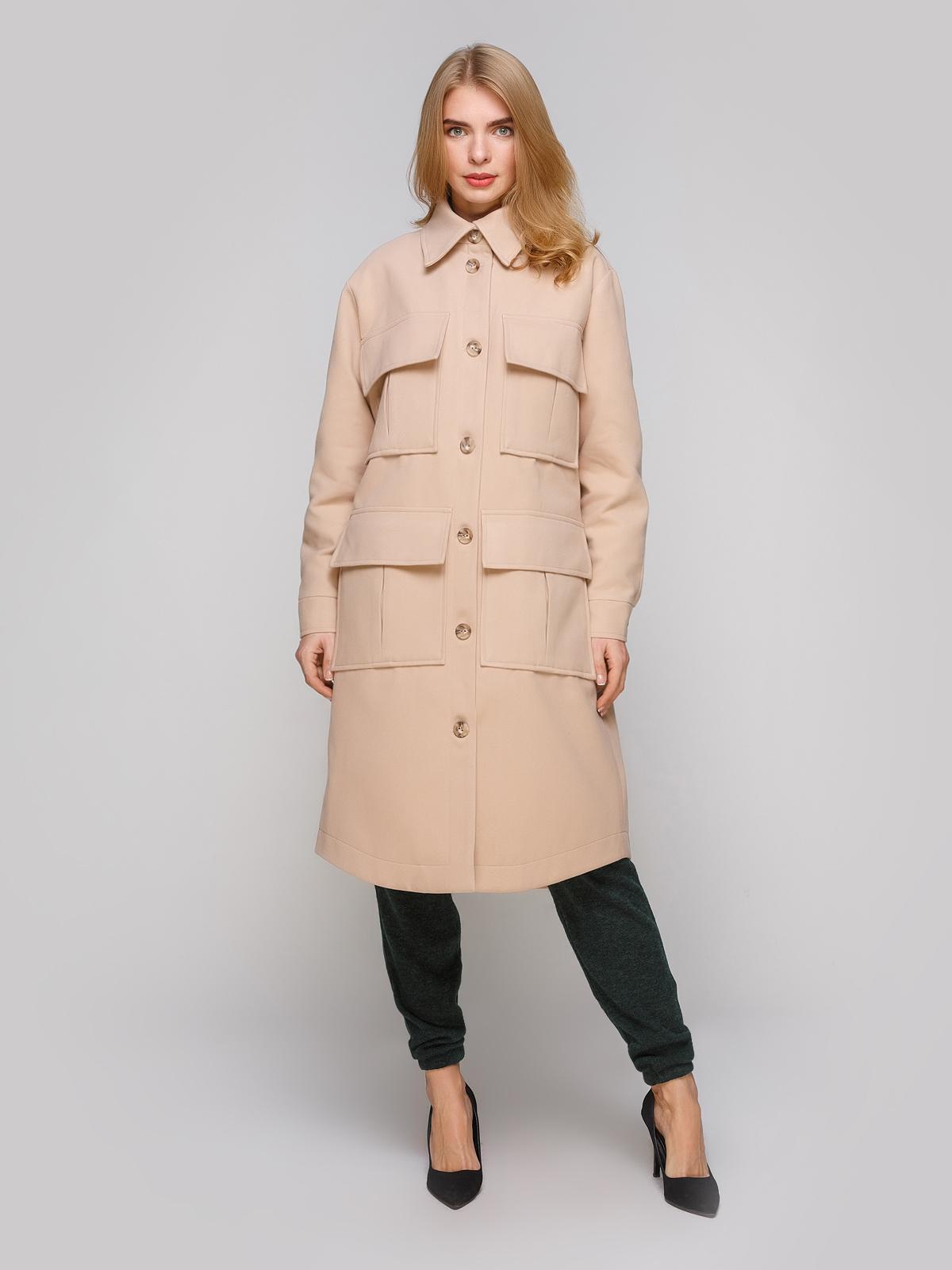 Пальто женские Anna Yakovenko модель 2865 качество, 2017