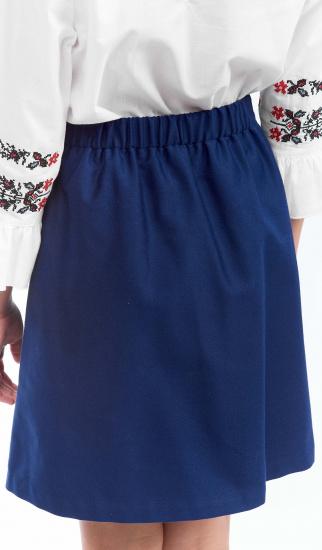 Спідниця Едельвіка модель 291-19-00blue — фото 3 - INTERTOP