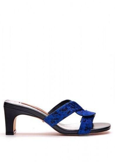 для женщин 297423 Стильные кожаные мюли Modus Vivendi 297423 брендовая обувь, 2017
