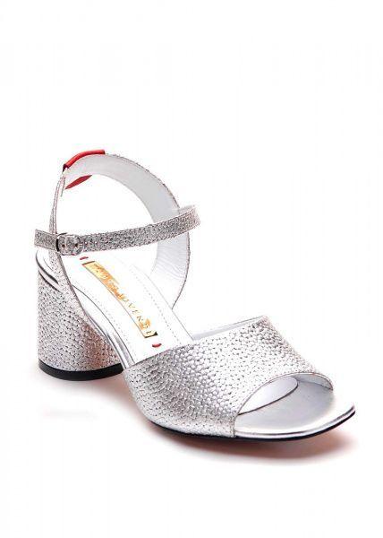Босоножки для женщин 297801 Серебряные кожаные босоножки Modus Vivendi 297801 цена обуви, 2017
