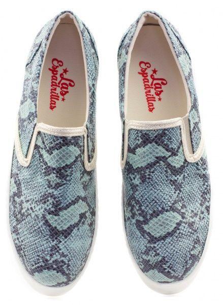 Слипоны женские Las Espadrillas 2A20 брендовая обувь, 2017