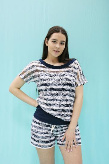 Effetto Піжама жіночі модель 0151 Жіночий піжамний комплект купити, 2017