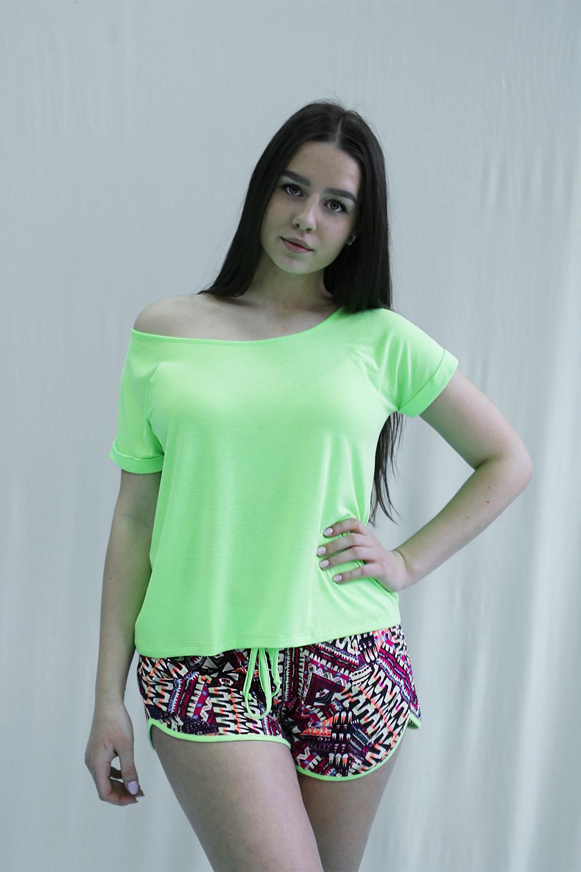 Піжама жіноча Effetto модель 0156 Жіночий піжамний комплект - фото
