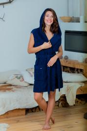 Халат жіночий Effetto модель 0514 Жіночий жилет - фото