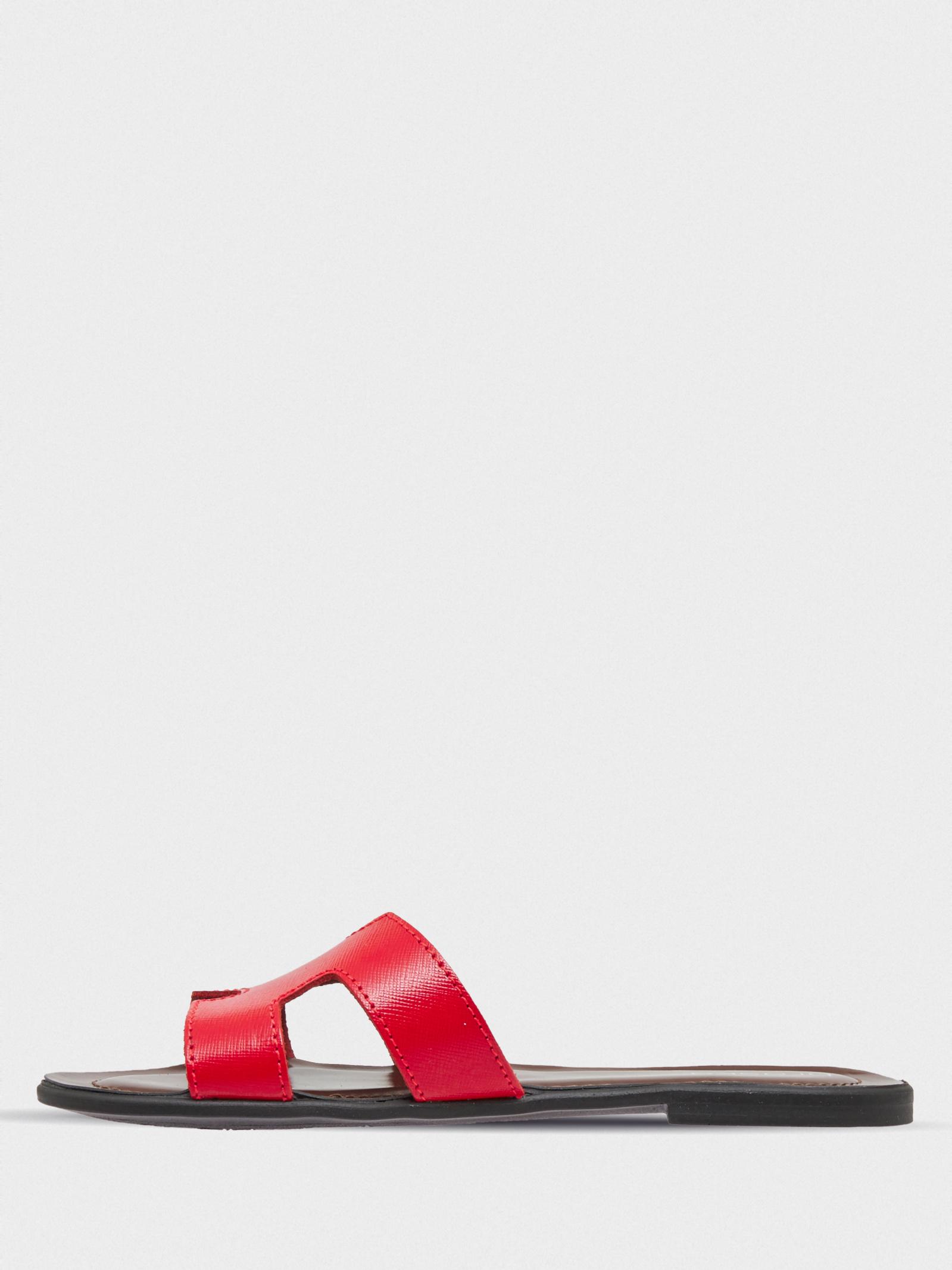 Шльопанці  для жінок Braska VH-1U-01 red брендове взуття, 2017