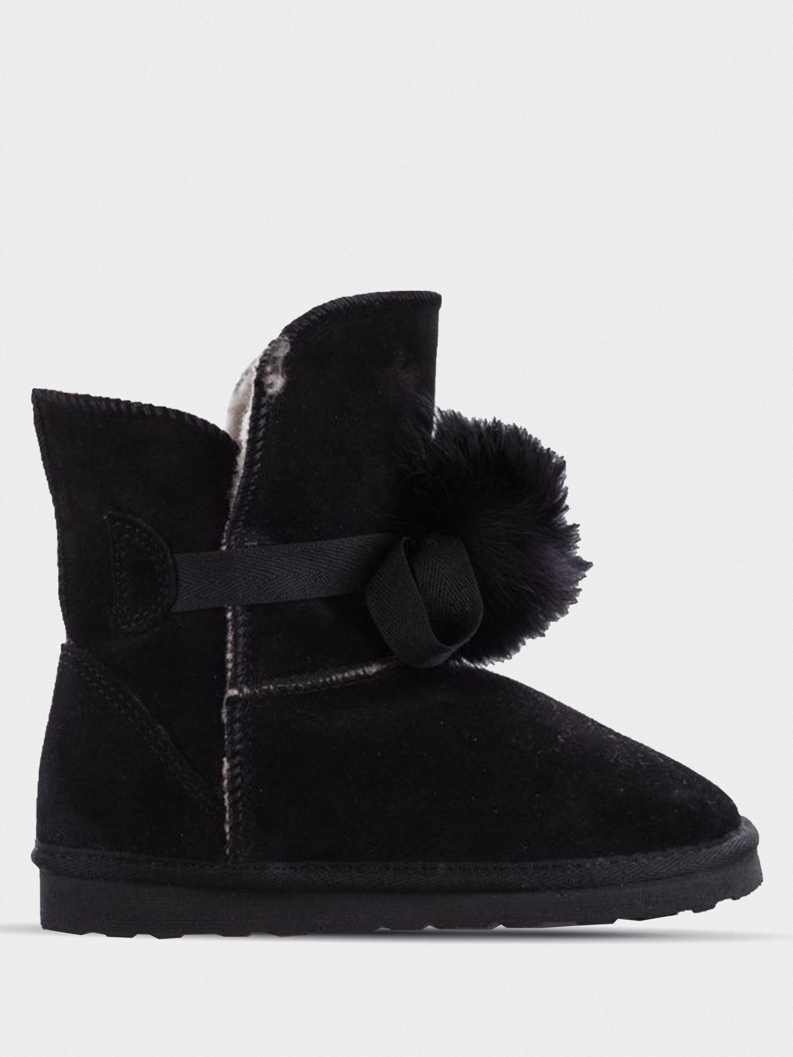 Купить Ботинки для детей Braska Inblu 2V6, Черный