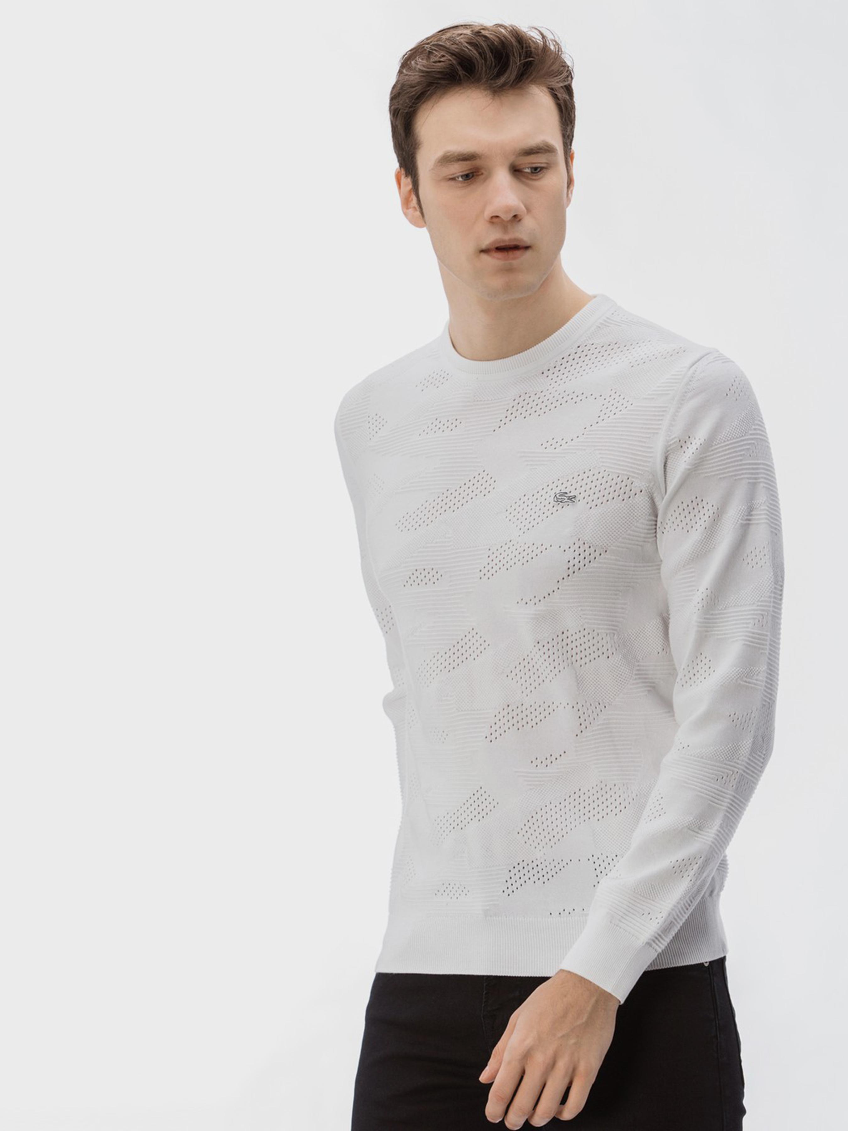 Свитер мужские Lacoste модель 2Y16 купить, 2017