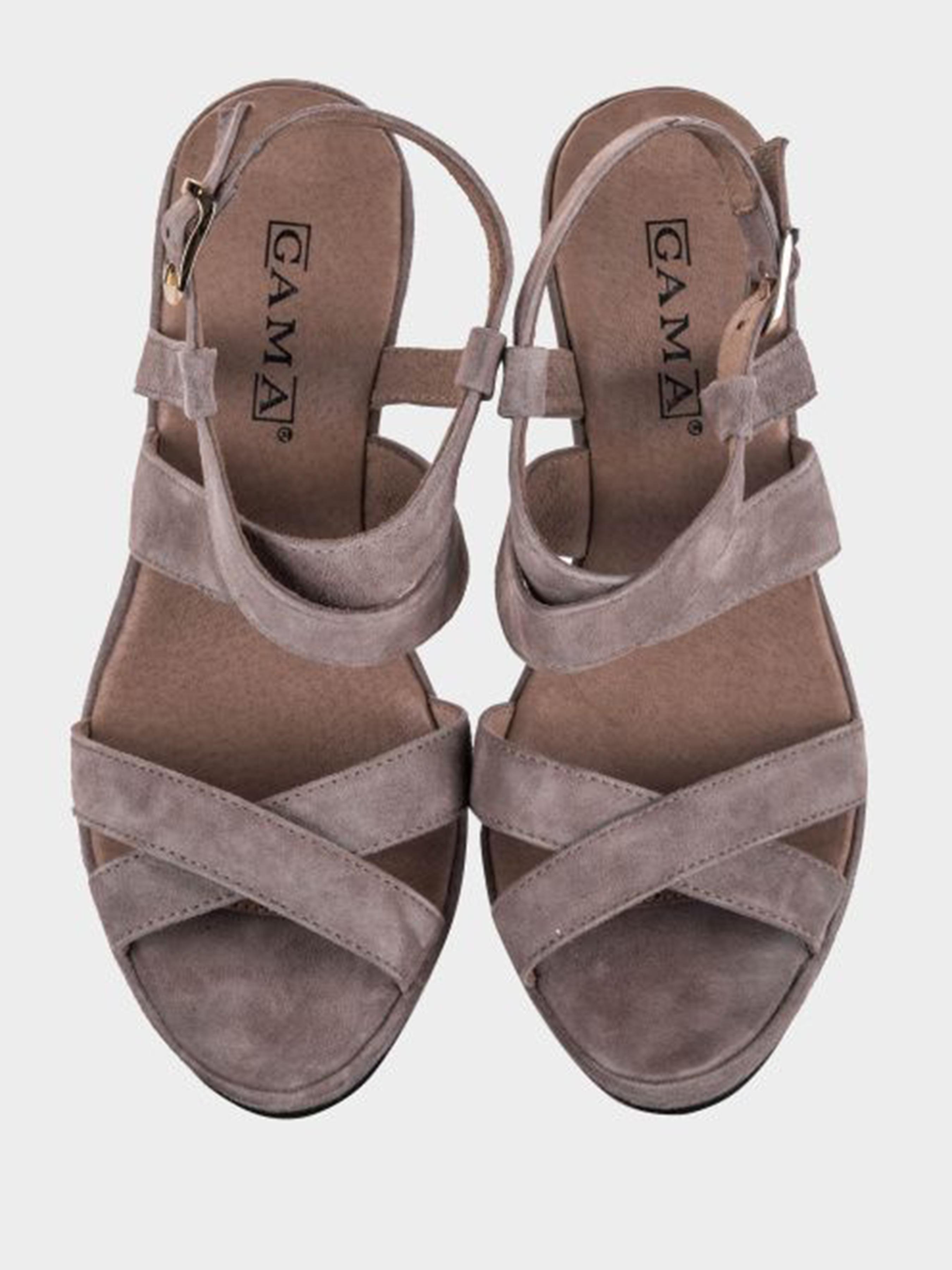 Босоножки для женщин GAMA 2Z44 размерная сетка обуви, 2017