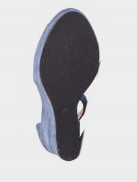 Босоніжки жіночі GAMA 3315 син - фото