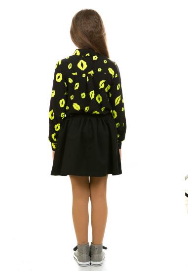 Блуза з довгим рукавом Kids Couture модель 300100291 — фото 2 - INTERTOP