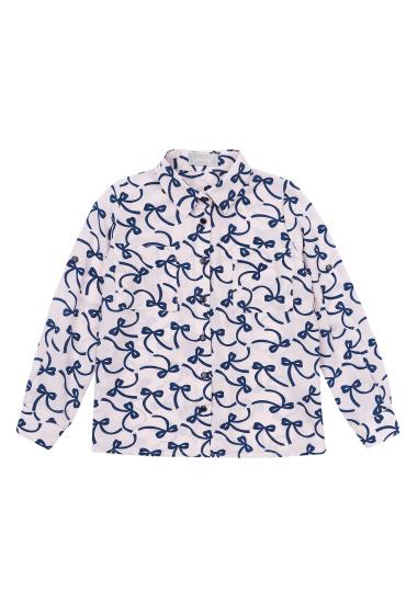 Блуза з довгим рукавом Kids Couture модель 300100389 — фото 3 - INTERTOP
