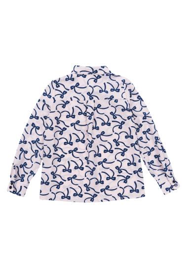Блуза з довгим рукавом Kids Couture модель 300100389 — фото 4 - INTERTOP