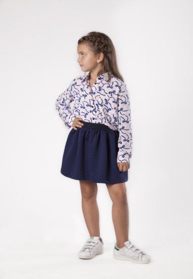 Блуза з довгим рукавом Kids Couture модель 300100389 — фото - INTERTOP