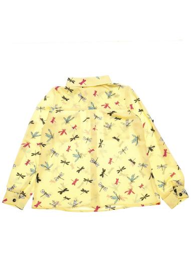 Блуза з довгим рукавом Kids Couture модель 300100888 — фото 4 - INTERTOP