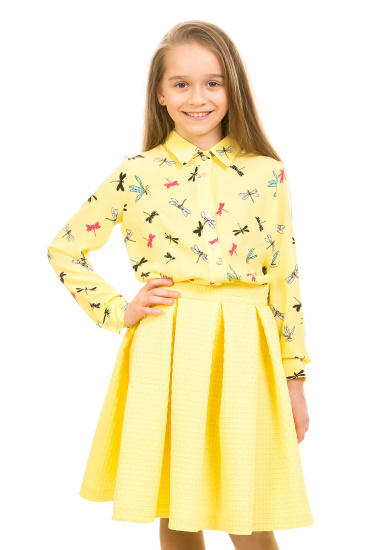 Блуза з довгим рукавом Kids Couture модель 300100888 — фото - INTERTOP