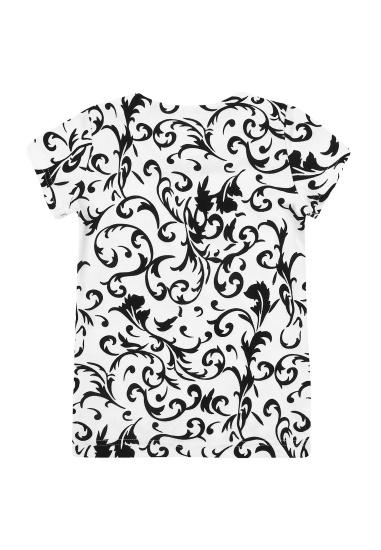 Блуза з коротким рукавом Kids Couture модель 30020101 — фото 4 - INTERTOP