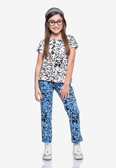 Блуза з коротким рукавом Kids Couture модель 30020101 — фото - INTERTOP