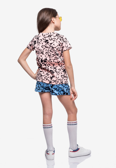 Блуза з коротким рукавом Kids Couture модель 30020302 — фото 2 - INTERTOP