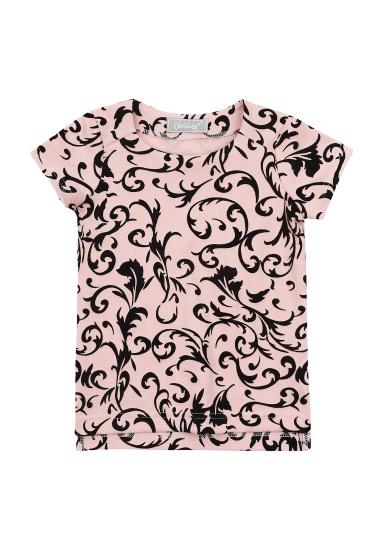 Блуза з коротким рукавом Kids Couture модель 30020302 — фото 3 - INTERTOP
