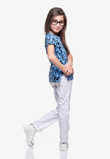 Блуза з коротким рукавом Kids Couture модель 30021103 — фото 2 - INTERTOP
