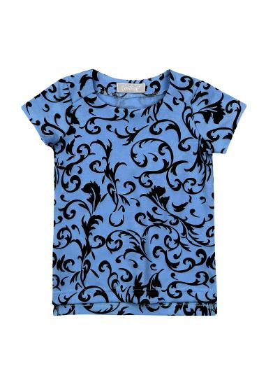 Блуза з коротким рукавом Kids Couture модель 30021103 — фото 3 - INTERTOP