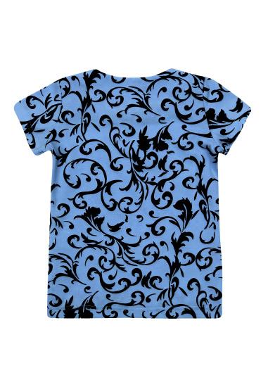 Блуза з коротким рукавом Kids Couture модель 30021103 — фото 4 - INTERTOP