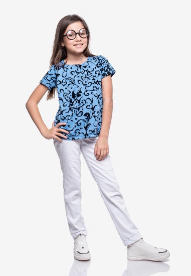 Блуза з коротким рукавом Kids Couture модель 30021103 — фото - INTERTOP